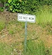 Do Not Mow
